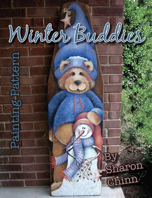 Winter Buddies Painting Pattern by Sharon Chinn