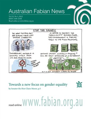 Australian Fabian News Vol52 No1 2012
