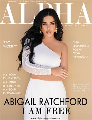 August Issue 2020 | Abigail Ratchford