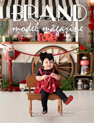 Brand Model Magazine  Issue # 318, Red/Pink Vol. 2