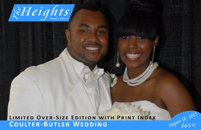 Volume 3 Issue 20 - Coulter-Butler Wedding (Oversize)