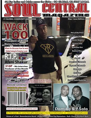 Soul Central Magazine May / June edition 2016 #36New Publication
