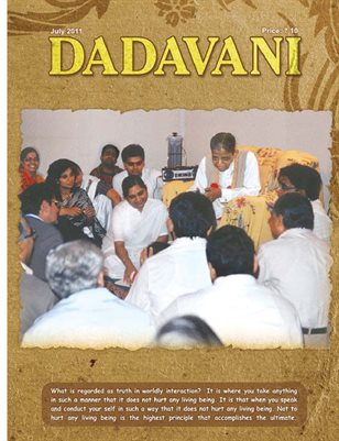 Unique events in the life of Gnani Purush Dadashri (English Dadavani july-2011)
