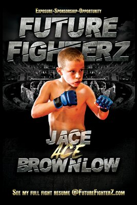 "Jace ""Ace"" Brownlow Arena Poster"