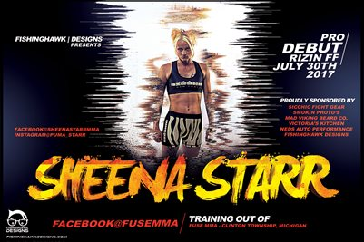 Sheena Starr Debut Poster