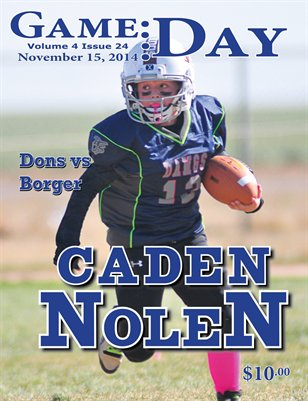 Volume 4 Issue 24 - Caden Nolen