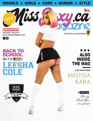 MISS SEXY Magazine - April 2020 - Issue 001