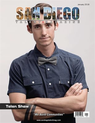 San Diego Talent Magazine January 2018 Edition