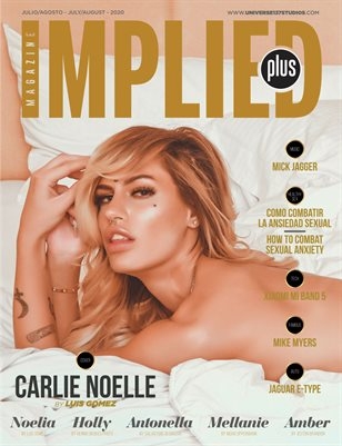 IMPLIED PLUS MAGAZINE  JULY -AUGUST 2020