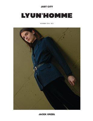 LYUN HOMME ISSUE No.3 (VOL No.2)