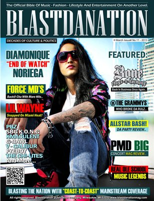 Blastdanation Magazine March 2013 Issue# 11