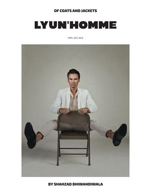 LYUN Homme Issue No.8