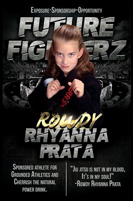 Rowdy Rhyanna Prata Arena Poster