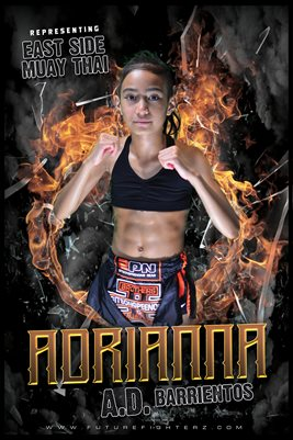 Adrianna Barrientos Fire Ring Poster #2