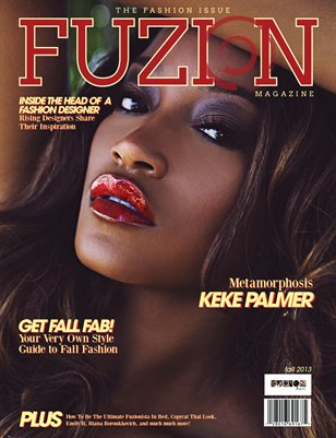 Fuzion Magazine Fall Fashion Issue