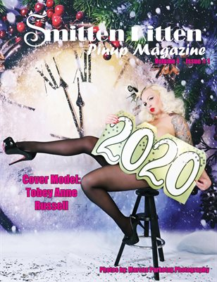Smitten Kitten Pinup Magazine Cover 1 TobeyAnneRussell January 2020
