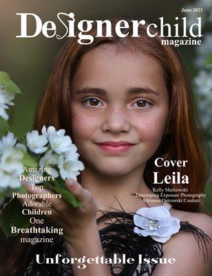 Designer Child Magazine Unforgettable Issue June 2021