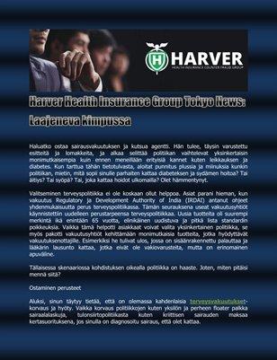 Harver Health Insurance Group Tokyo News: Laajeneva kimpussa