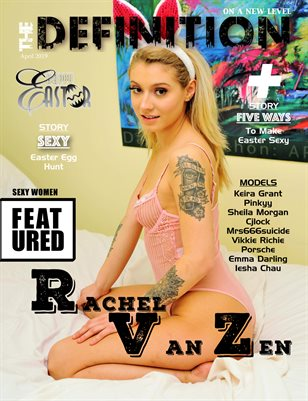 The Definition: Easter Rachel Van Zen Issue 3 Cover(2019)