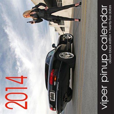 2014 Viper Pinup Calendar (DELUXE)