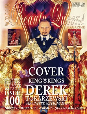 World Class Beauty Queens Magazine, Issue 100, Derek Tokarzewski