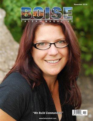 Boise Talent Magazine November 2016 Edition