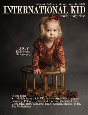 International Kid Model Magazine Issue #84 Babies and Toddlers