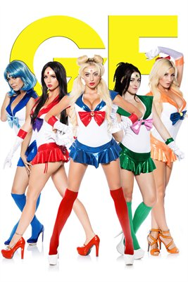 Sailor Scouts Poster: Group