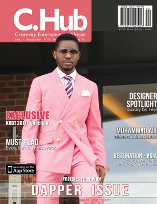 C. Hub magazine Dapper issue .
