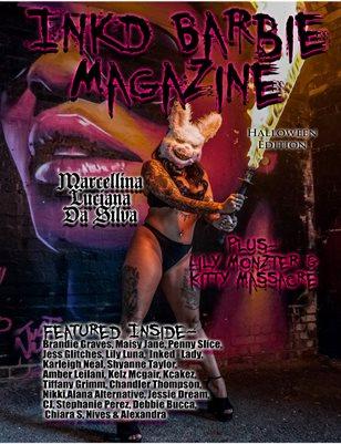 Inkd Barbie Magazine - Halloween Edition - Marcellina Da Silva