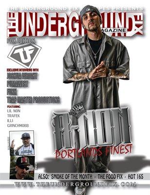 The Underground Fix Magazine 'PDX Edition'