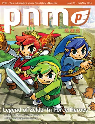 Pure Nintendo Magazine (PNM) Issue 25