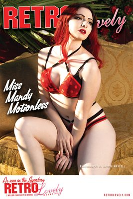 Miss Mandy Motionless Cover Poster