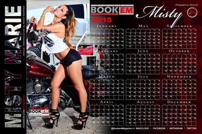 Misty Marie 2015 Calendar 1