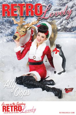 Ally Oops Cover Poster
