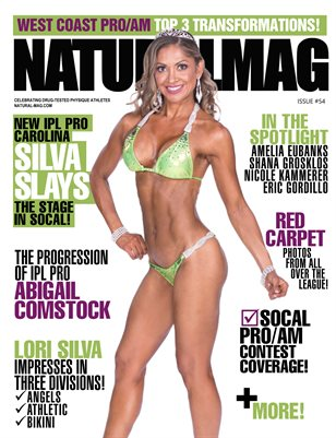 Natural Magazine International Issue #54 - Cover: Carolina Silva