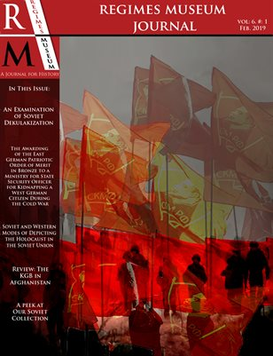 Regimes Museum Journal Volume 6, Issue 1