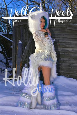 2017 Hell on Heels Magazine January 27th Model Feature Holly Marie