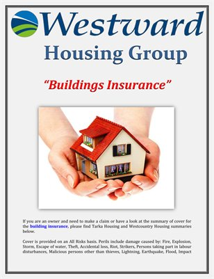 Westward Housing Group: Buildings Insurance