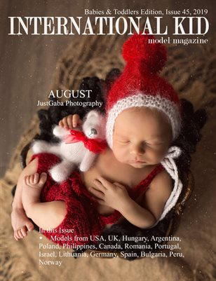 International Kid Model Magazine Issue #45 Babies and Toddlers
