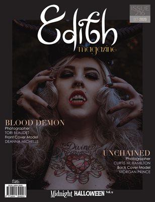 Midnight Halloween, October 2020, Issue 216