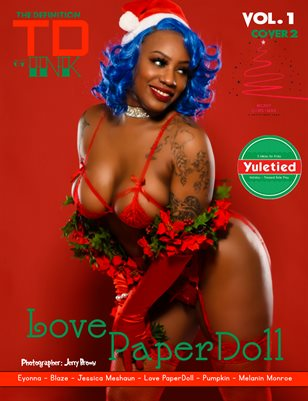 TDM Ink Love Paper Doll Xmas vol1 cover2