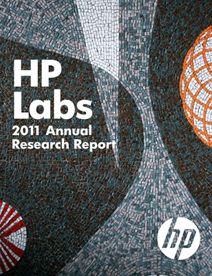 HP Labs 2011 Annual Research Report