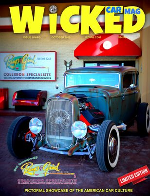 WICKED CAR MAGAZINE - BUMP AND GRIND SHOW - OCTOBER ISSUE