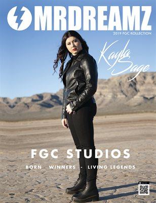 Mr Dreamz magazine 2019 Kayla Sage FGC Studios