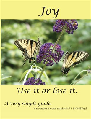 Joy - use it or lose it