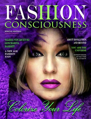 FASHION CONSCIOUSNESS Magazine Introductory Issue Spring 2015
