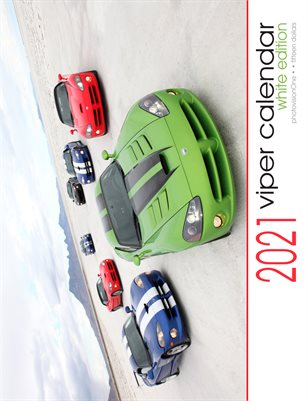 2021 Viper Calendar - Standard White Edition