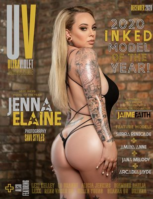 ULTRAVIOLET Magazine: 2020 Inked Model of the Year!