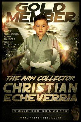 Christian Echeverria Gold Member/Diploma Poster